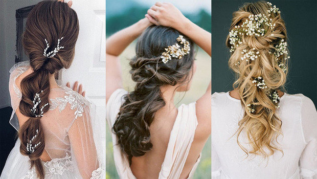 Bridal Hair Ideas for Different Types of Hairs